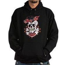 Rockabilly Skull Hoodies Hoody