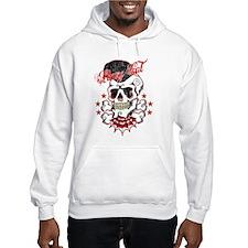 Rockabilly Skull Hoodies Jumper Hoody