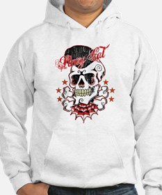 Rockabilly Skull Hoodies Jumper Hoody