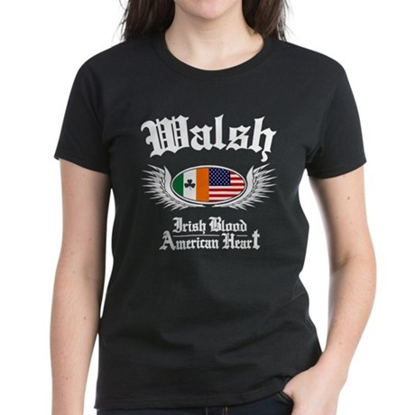 Walsh - Women's Dark T-Shirt