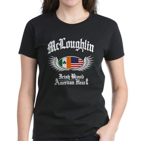 McLoughlin Women's Dark T-Shirt