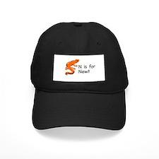 N is for Newt Baseball Hat
