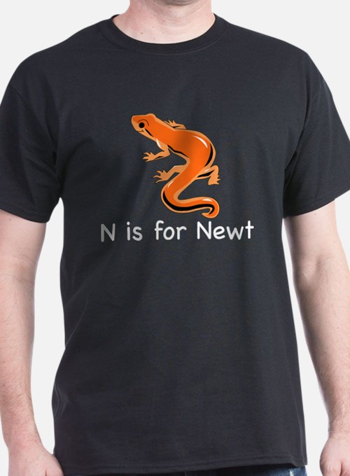 N is for Newt T-Shirt