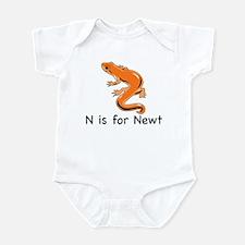 N is for Newt Infant Bodysuit