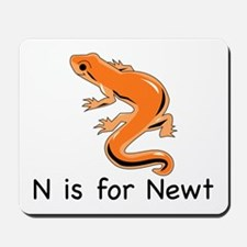N is for Newt Mousepad