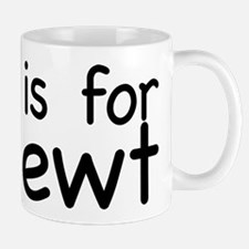 N is for Newt Mug