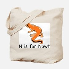 N is for Newt Tote Bag