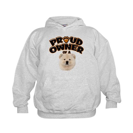 Proud Owner of a Chow Chow Kids Hoodie