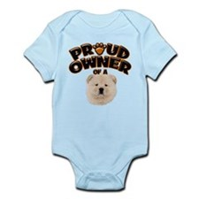 Proud Owner of a Chow Chow Infant Bodysuit