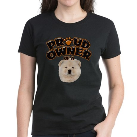 Proud Owner of a Chow Chow Women's Dark T-Shirt