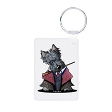 Pawtter Scottie Aluminum Photo Keychain