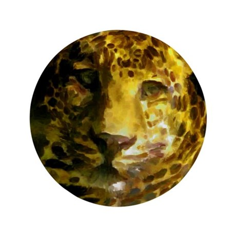"Cat Paint 72 3.5"" Button"