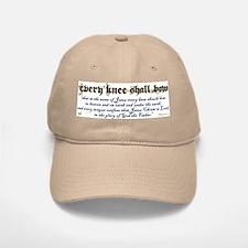 Every Knee Shall Bow Baseball Baseball Cap