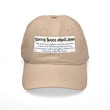 Every Knee Shall Bow Baseball Cap