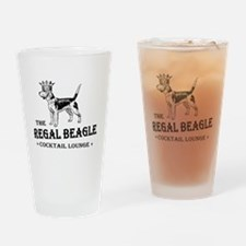 The Regal Beagle Drinking Glass