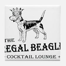 The Regal Beagle Tile Coaster