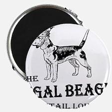 "The Regal Beagle 2.25"" Magnet (100 pack)"