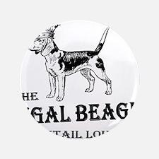 "The Regal Beagle 3.5"" Button (100 pack)"