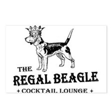The Regal Beagle Postcards (Package of 8)