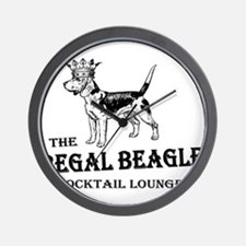 The Regal Beagle Wall Clock