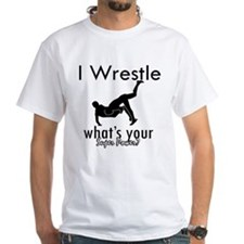 I Wrestle Shirt