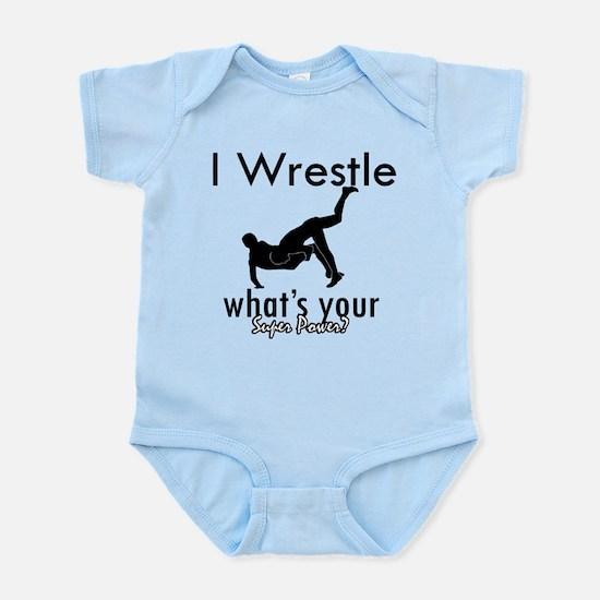 I Wrestle Infant Bodysuit