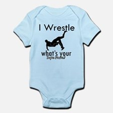 I Wrestle Onesie