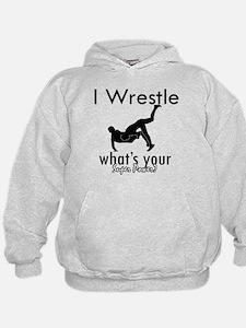 I Wrestle Hoodie