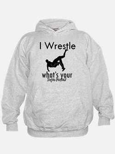 I Wrestle Hoody