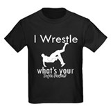 Wrestling Kids T-shirts (Dark)