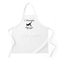 I Wrestle Apron