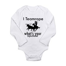 I Teamrope Long Sleeve Infant Bodysuit