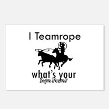 I Teamrope Postcards (Package of 8)