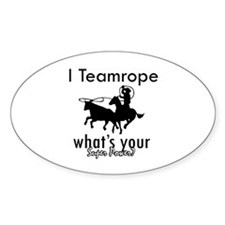 I Teamrope Decal