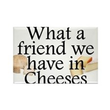 Cheeses Rectangle Magnet