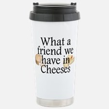 Cheeses Stainless Steel Travel Mug