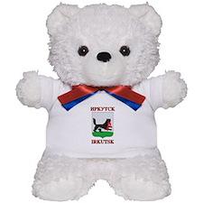 Irkutsk Coat of Arms Teddy Bear