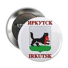 "Irkutsk Coat of Arms 2.25"" Button"