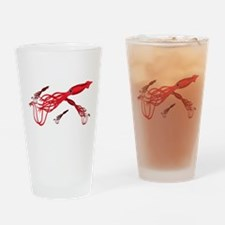 Giant Squid Drinking Glass