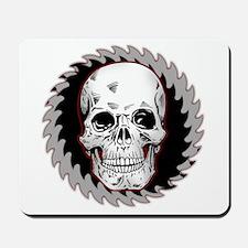 Skull Saw Mousepad