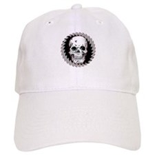 Skull Saw Baseball Cap