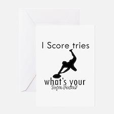 I Scoretries Greeting Card