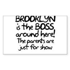 Brooklyn is the Boss Decal