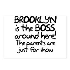 Brooklyn is the Boss Postcards (Package of 8)