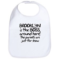 Brooklyn is the Boss Bib
