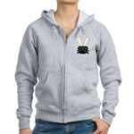 Bug Eyed Fly Women's Zip Hoodie