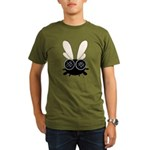 Bug Eyed Fly Organic Men's T-Shirt (dark)
