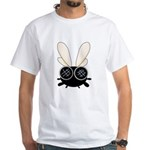 Bug Eyed Fly White T-Shirt