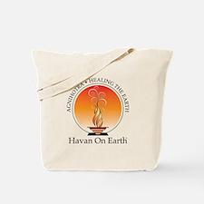 Agnihotra, Havan On Earth Bags And Totes Tote Bag