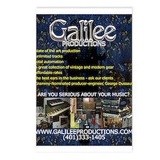 Galilee Postcards (Package of 8)